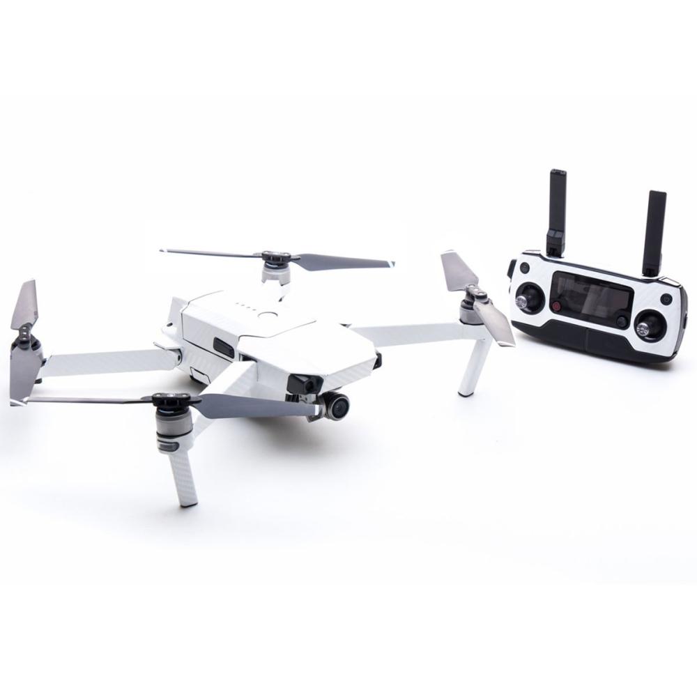 Modifli Dji Mavic Pro Fly More Combo Drone Skin White Carbon
