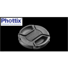 Phottix Snap On Lens Cap: 55mm