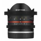 Samyang 8mm T3.1 Video UMC Fish-Eye II Lens - Fujifilm X Fit  AA0239