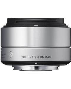 Sigma 30mm F2.8 DN Silver Art Series Lens: MICRO FOUR THIRDS CA2569