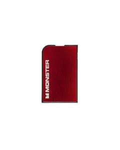 Monster Mobile PowerCard 1650mAh Portable Battery - Cherry Red