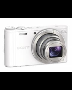 Sony Cyber-shot DSC-WX350 Digital Camera - White: Refurbished