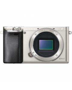 Sony Alpha A6000 Digital Camera Body - Silver: Refurbished