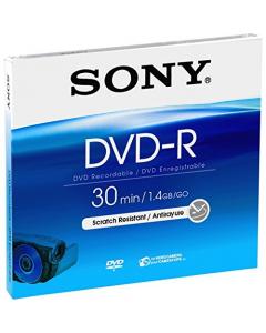 Sony 8cm DVD-R 30 Min 1.4GB