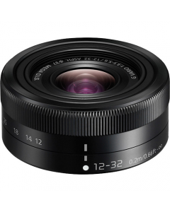 Panasonic 12-32mm Lens Black: White Box