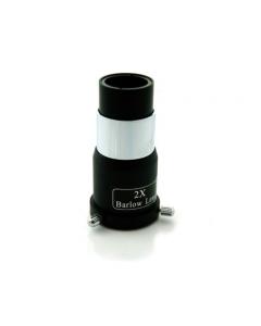 Skywatcher 2x Economy Single Lens Barlow Telescope Lens 1.25 fitting