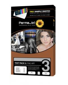 PermaJet Test Pack 3 Fine Art Photo Paper - 18 Sheets (20052)