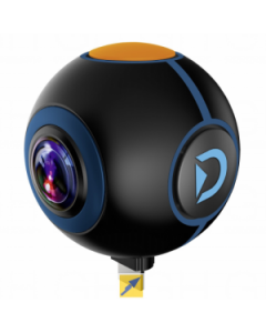 Discovery Adventures HD Dual Lens 720° Android Action Camera Spy