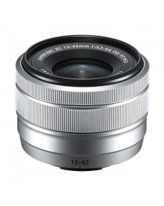 Fujifilm 15-45mm f3.5-5.6 XC OIS PZ - Silver: White Box