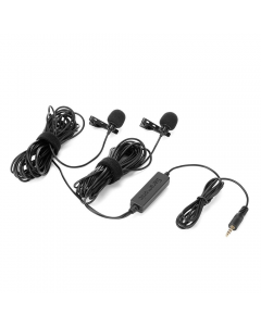Saramonic LavMicro 2M Dual Lavalier Mic for DSLR Camera / Smartphones / Recorders