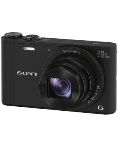 Sony Cyber-shot DSC-WX350 Digital Camera - Black: Refurbished
