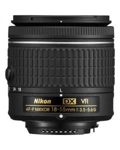 Nikon AF-P DX NIKKOR 18-55mm F3.5-5.6G VR Lens: White Box CC1309