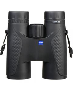 Zeiss Terra ED 10x42 Binoculars - Black/Black