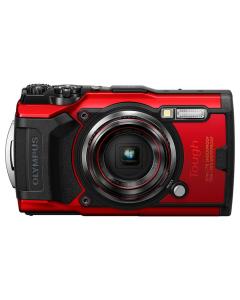 Olympus Tough TG-6 Waterproof Digital Compact Camera - Red