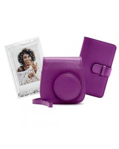 Fujifilm Instax Mini 9 Accessory Kit: Purple