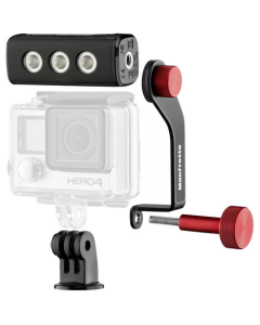 Manfrotto MLOFFROAD Off Road ThrilLED LED Light & Bracket for GoPro Cameras