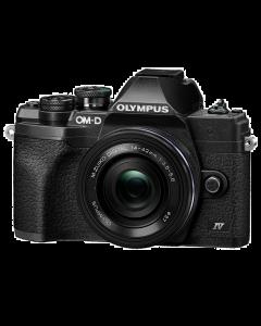 Olympus OM-D E-M10 Mark IV Digital Camera with 14-42mm EZ Lens - Black