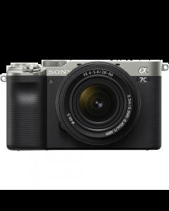 Sony Alpha A7C Full Frame Digital Camera with 28-60mm Lens - Silver