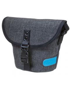 Dorr City Basic Small Shoulder Bag - Grey / Blue