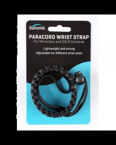 Summit Paracord Camera Wrist Strap - Black