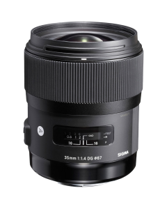Sigma 35mm F1.4 DG HSM Art Series Lens: Sigma SA Fit