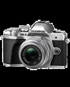 Olympus OM-D E-M10 Mark III Digital Camera with 14-42mm II R lens - Silver