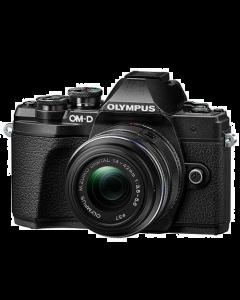 Olympus OM-D E-M10 Mark III Digital Camera with 14-42mm II R lens - Black