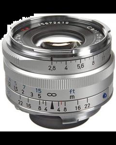 Zeiss 35mm f2.8 C Biogon T* ZM Leica M Mount Lens: Silver