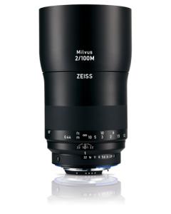 Zeiss Milvus 100mm f2 Macro ZF.2 Lens - Nikon F Fit