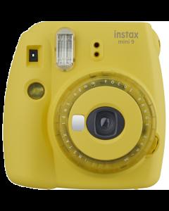 Fujifilm Instax Mini 9 Compact Instant Film Camera: Clear Yellow
