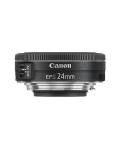 Canon EF-S 24mm F2.8 STM Wide Angle Pancake Lens