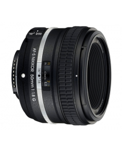 Nikon 50mm F/1.8 AF-S G Limted Edition DF Lens - Black