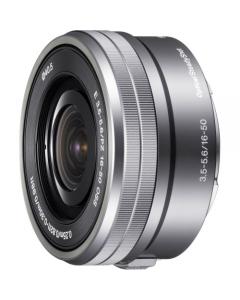 Sony E16-50mm f3.5-5.6 OSS Lens For Sony NEX Digital Camera - Silver: White Box