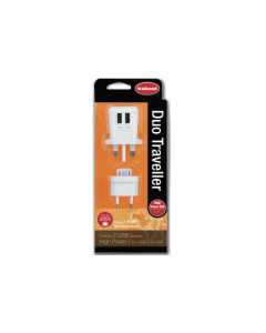 Hahnel Duo Traveller High Power USB iPad Charger with EU Adapter