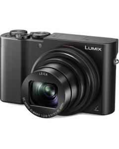 A - Panasonic Lumix DMC-TZ100 Digital Compact Camera: Black