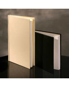 PermaJet SnapShut Folio Black Leather A3 Landscape - 25mm Spine