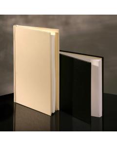 PermaJet SnapShut Folio Black Leather A4 Portrait - 25mm Spine