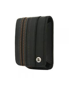 Crumpler Gofer Royale 40 Leather Compact Camera Case - Dull Black / Dark Grey