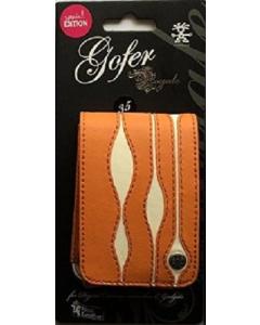 Crumpler Gofer Royale 35 Special Edition Leather Compact Camera Case - Orange