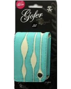 Crumpler Gofer Royale 35 Special Edition Leather Compact Camera Case - Turquoise