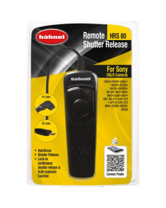 Hahnel HRS 80 Remote Shutter Release For Sony Camera