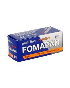 Fomapan Profi Line Creative ISO 200 Black & White 120 Roll Film
