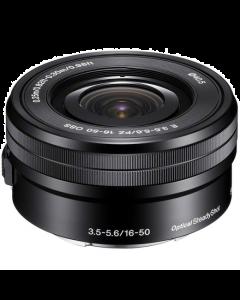 Sony E 16-50mm f3.5-5.6 OSS Power Zoom E-mount Lens - Black: Refurbished [White Box]