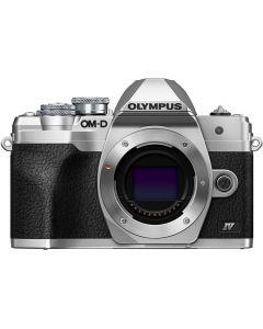 Olympus OM-D E-M10 Mark IV Digital Camera Body Silver