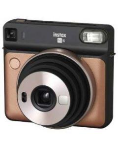 Fujifilm Instax SQ6 Instant Film Camera Brush Gold