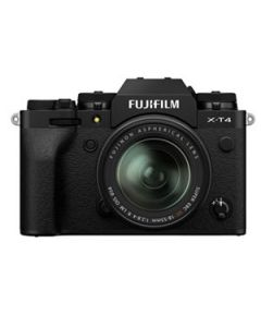 Fujifilm X-T4 Digital Mirrorless Camera with 18-55mm XF Lens - Black
