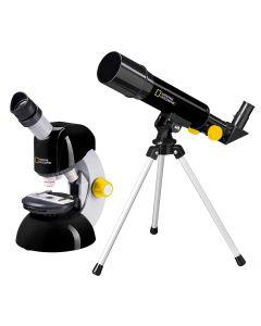 National Geographic Telescope & Microscope Bundle Kit Set