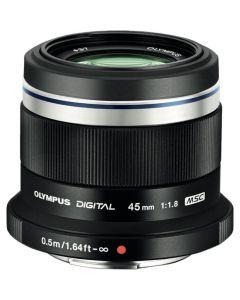 Olympus 45mm f1.8 M.Zuiko Digital Lens - Black