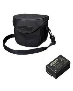 Panasonic Lumix Case and Battery Kit for FZ82