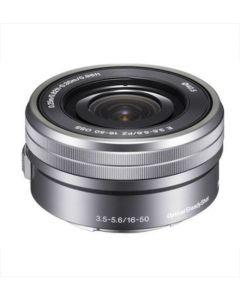 Sony E16-50mm f3.5-5.6 OSS Lens For Sony NEX Digital Camera - Silver: White Box: Refurbished